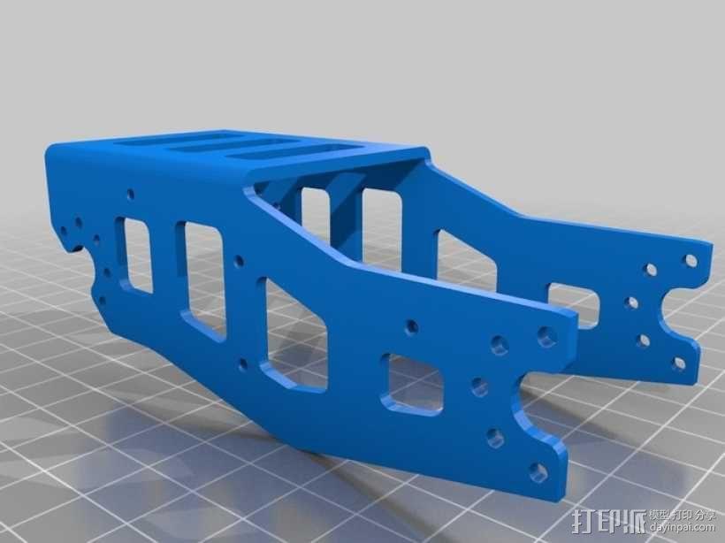 DArwln-OP机器人的支架及组件 3D模型  图16