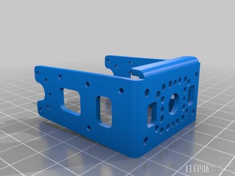 DArwln-OP机器人的支架及组件 3D模型  图17
