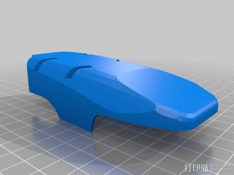 DArwln-OP机器人的支架及组件 3D模型  图18