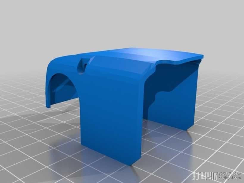 DArwln-OP机器人的支架及组件 3D模型  图19