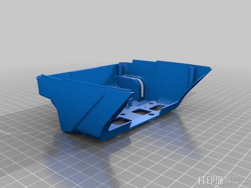 DArwln-OP机器人的支架及组件 3D模型  图20