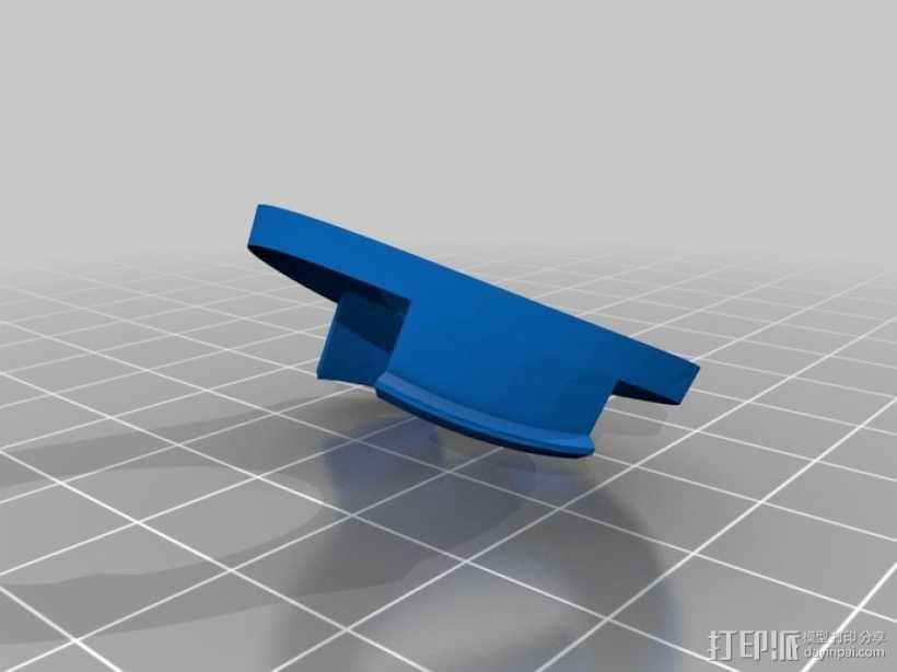 DArwln-OP机器人的支架及组件 3D模型  图21