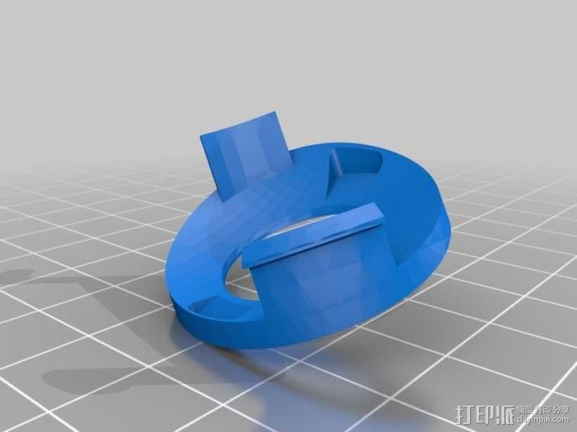 DArwln-OP机器人的支架及组件 3D模型  图22