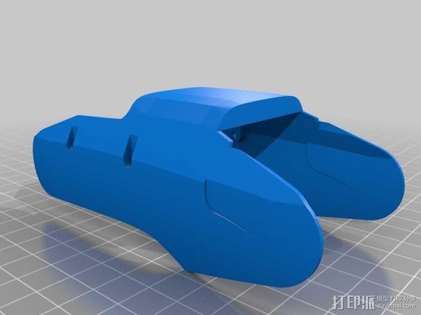 DArwln-OP机器人的支架及组件 3D模型  图25