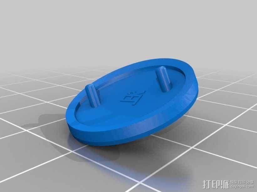 DArwln-OP机器人的支架及组件 3D模型  图24