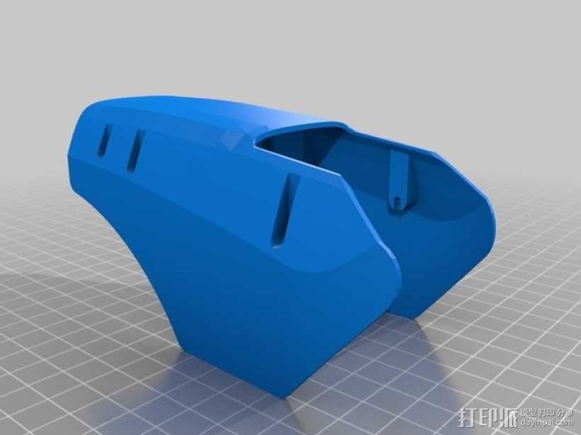 DArwln-OP机器人的支架及组件 3D模型  图26