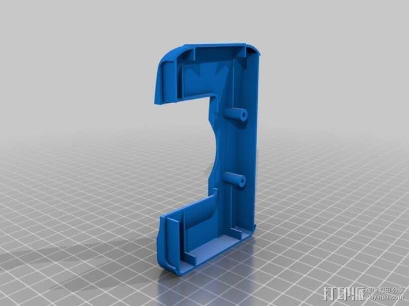 DArwln-OP机器人的支架及组件 3D模型  图28
