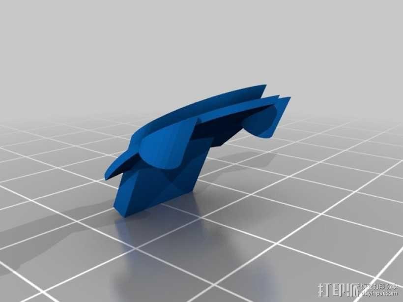 DArwln-OP机器人的支架及组件 3D模型  图27