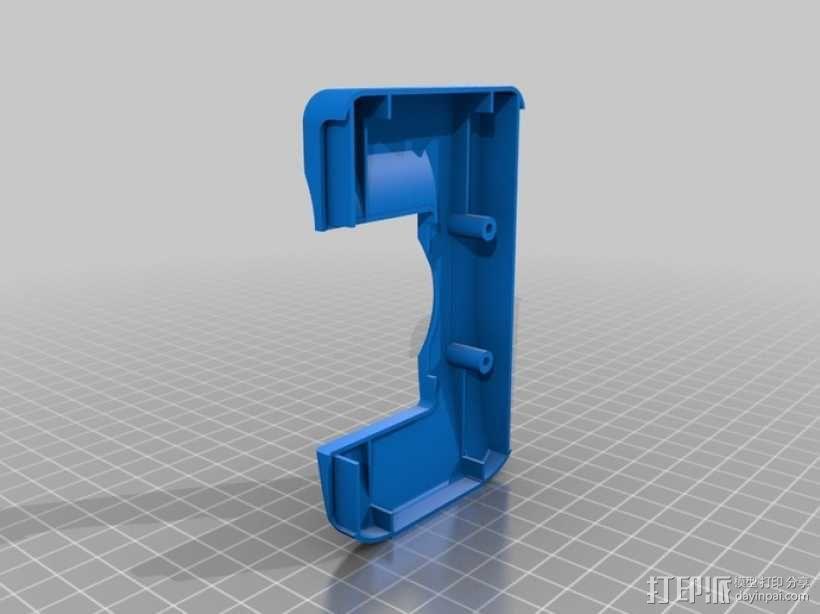 DArwln-OP机器人的支架及组件 3D模型  图29