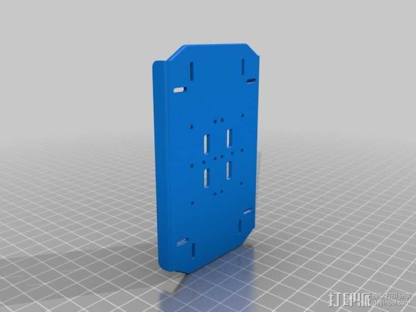 DArwln-OP机器人的支架及组件 3D模型  图30