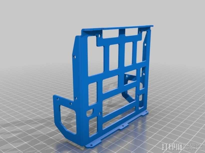 DArwln-OP机器人的支架及组件 3D模型  图31