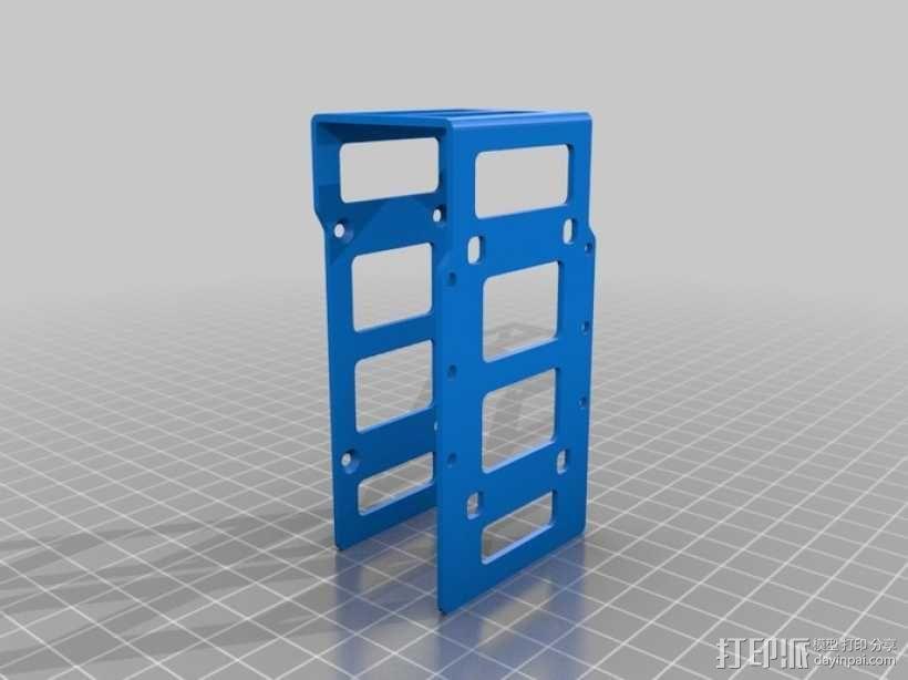 DArwln-OP机器人的支架及组件 3D模型  图33