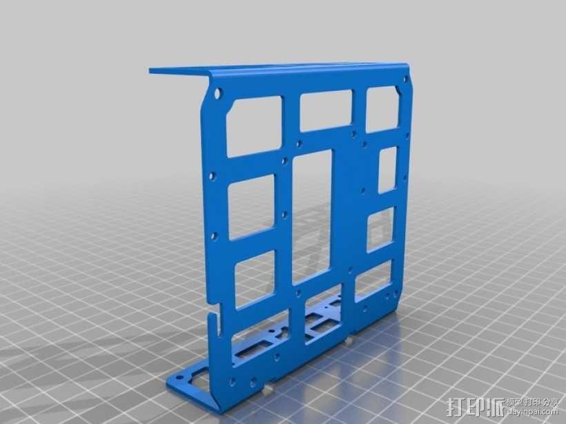 DArwln-OP机器人的支架及组件 3D模型  图32