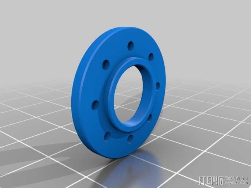DArwln-OP机器人的支架及组件 3D模型  图38