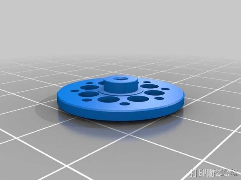 DArwln-OP机器人的支架及组件 3D模型  图40