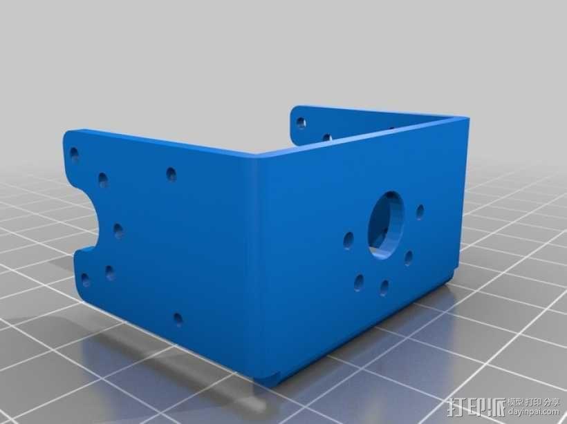 DArwln-OP机器人的支架及组件 3D模型  图42