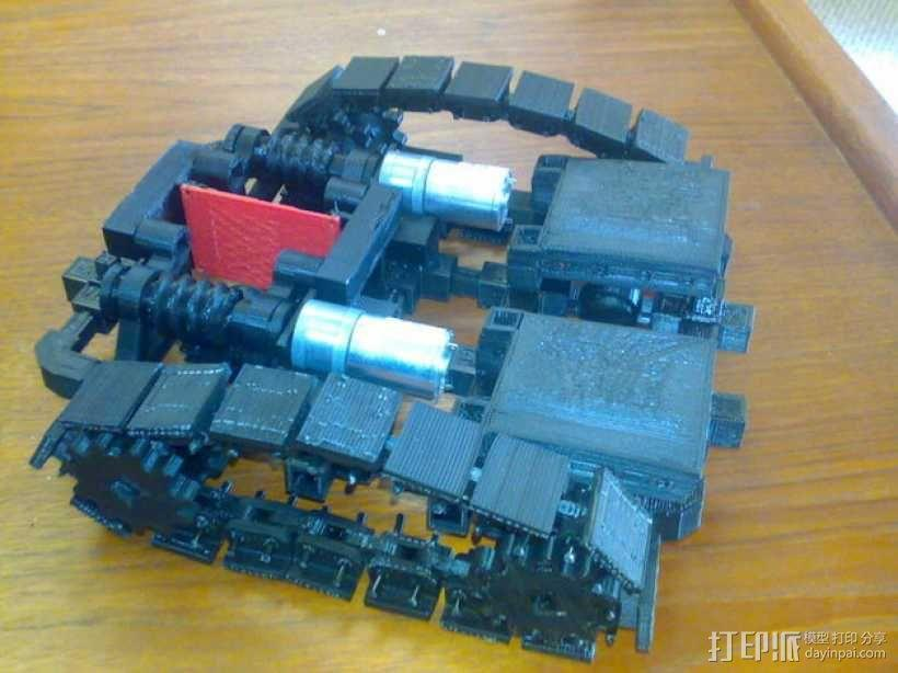 第二代坦克 3D模型  图1