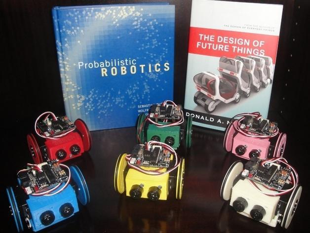 迷你Skybot机器人V1.0 3D模型  图2