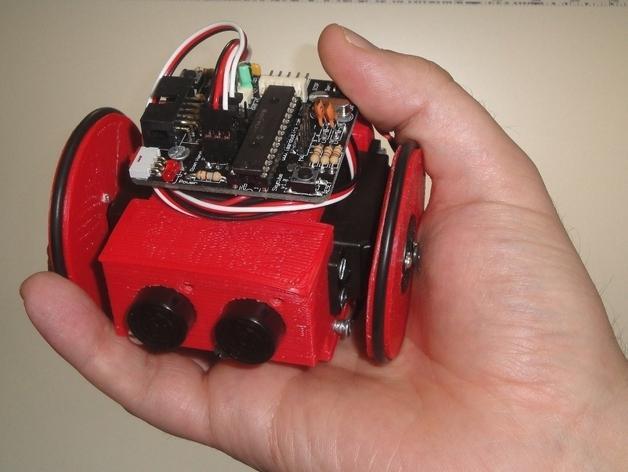 迷你Skybot机器人V1.0 3D模型  图3