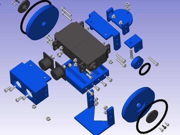 迷你Skybot机器人V1.0 3D模型  图7