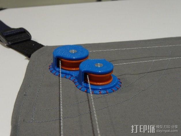 桌布上的机器人 3D模型  图4