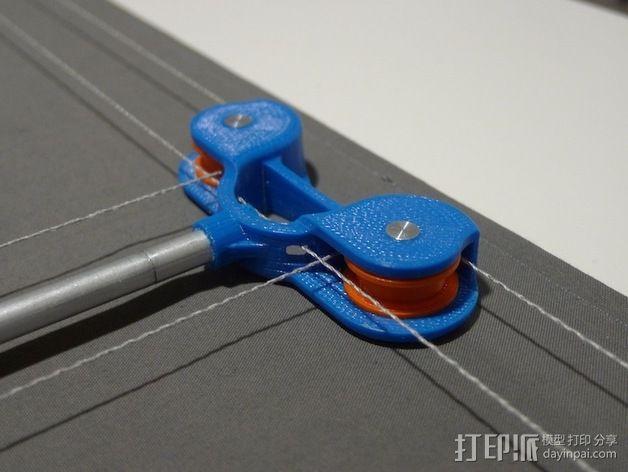 桌布上的机器人 3D模型  图5