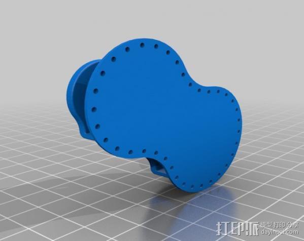 桌布上的机器人 3D模型  图11