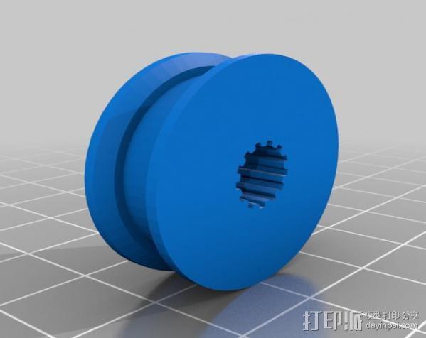 桌布上的机器人 3D模型  图10