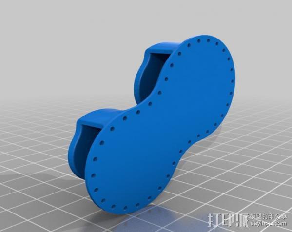 桌布上的机器人 3D模型  图13