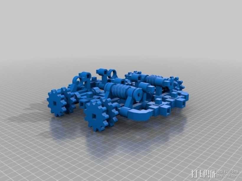 坦克! 3D模型  图1