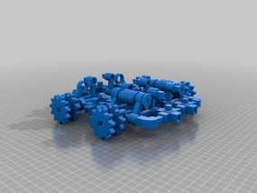 坦克! 3D模型
