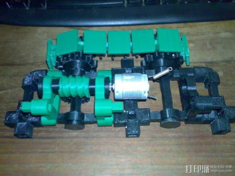 坦克! 3D模型  图2