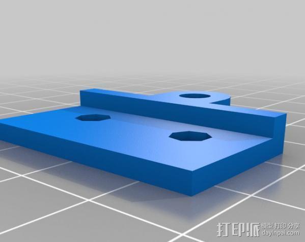 相扑机器人组件 3D模型  图2