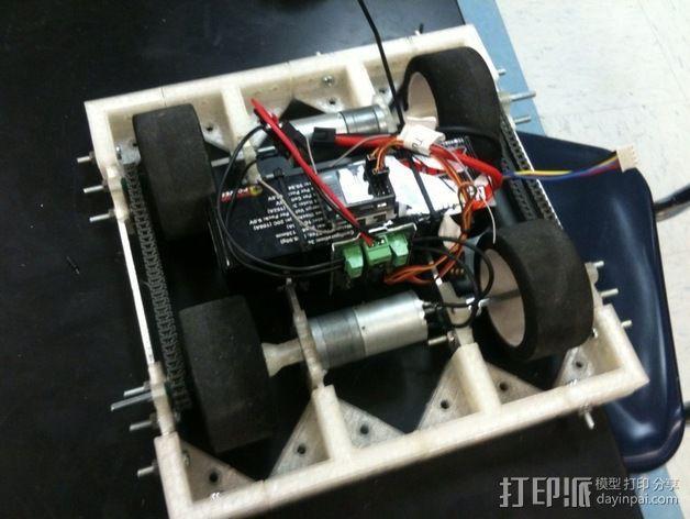 相扑机器人组件 3D模型  图3