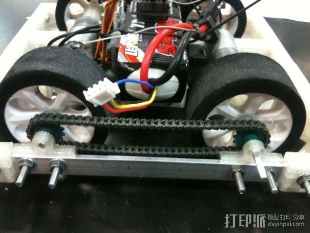 相扑机器人组件 3D模型  图11