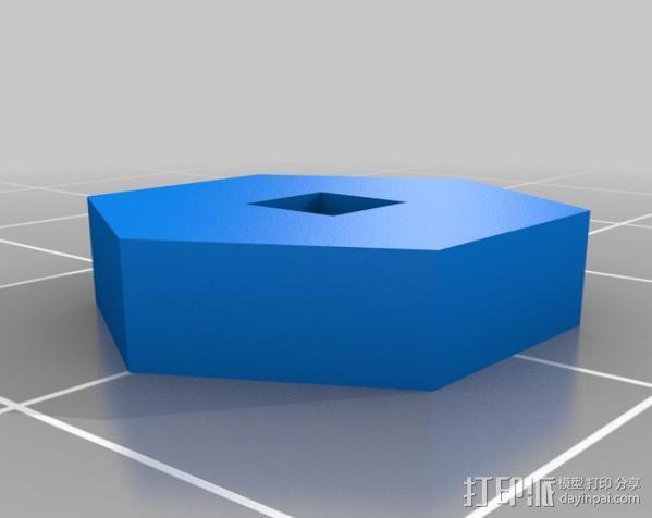 相扑机器人组件 3D模型  图12