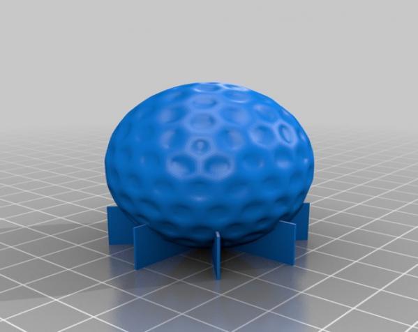 高尔夫球 3D模型  图2