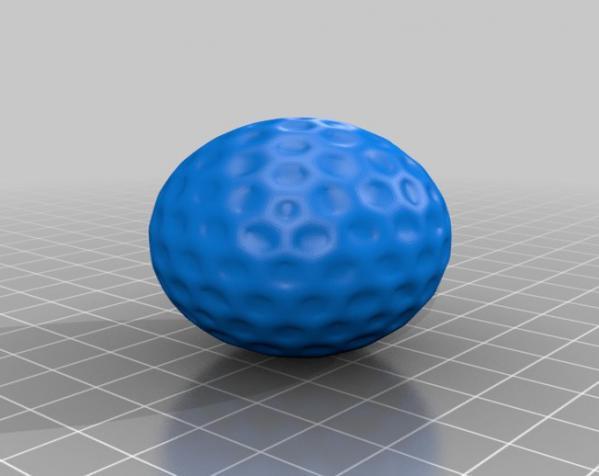 高尔夫球 3D模型  图3