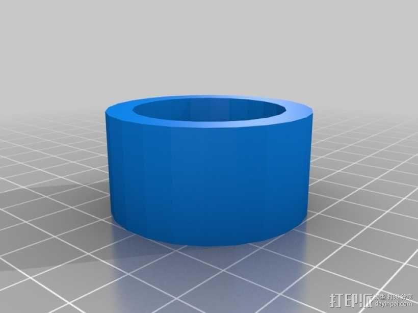 图片连接器 3D模型  图1