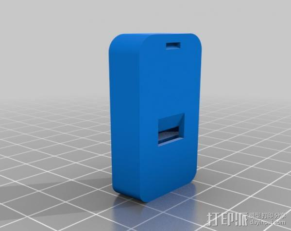 超薄口哨 3D模型  图3