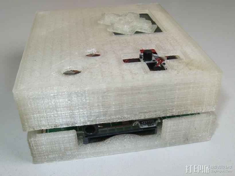 七弦琴——可移动音频播放器和录音器外壳 3D模型  图7