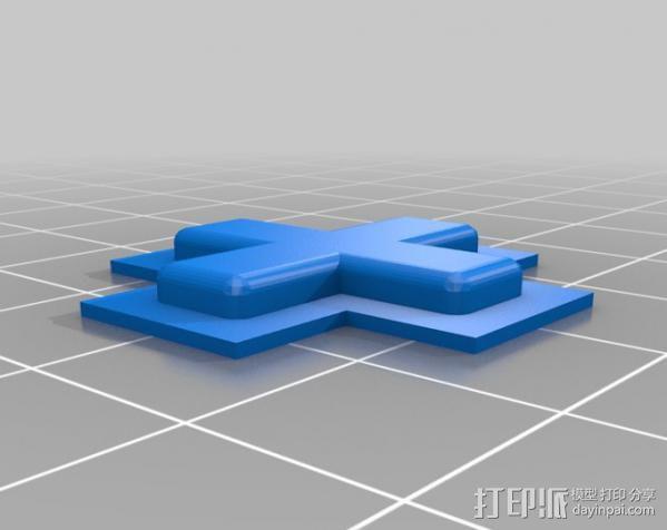 七弦琴——可移动音频播放器和录音器外壳 3D模型  图5