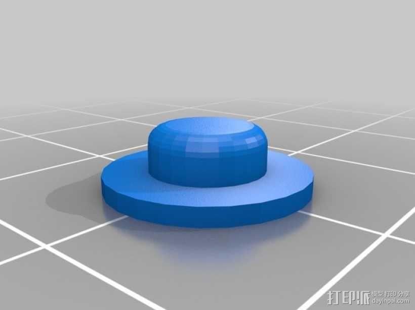 七弦琴——可移动音频播放器和录音器外壳 3D模型  图9