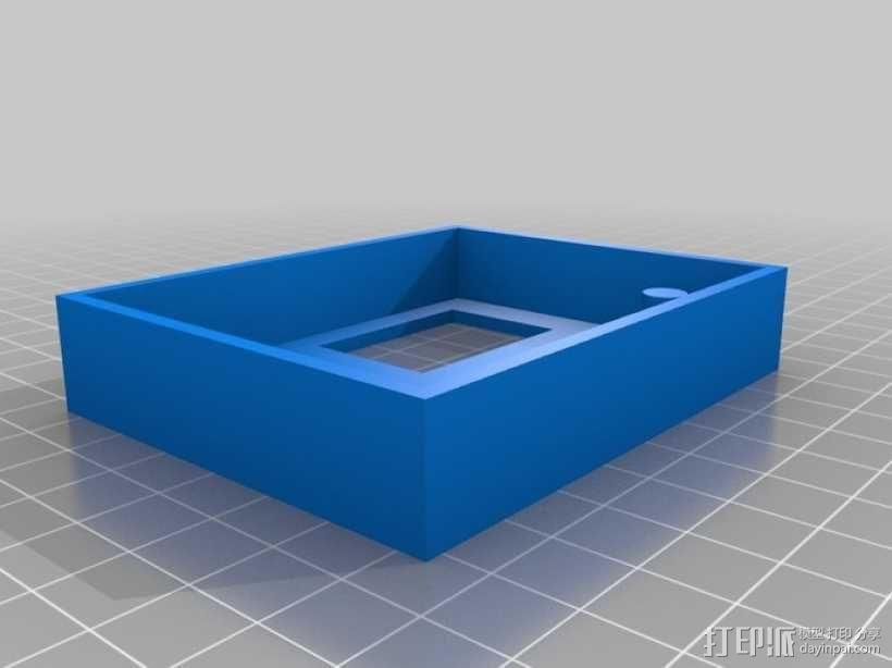 七弦琴——可移动音频播放器和录音器外壳 3D模型  图8
