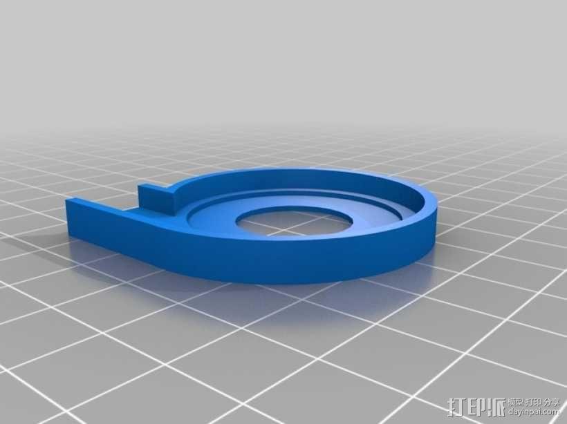 CD-Rom 马达泵 3D模型  图1