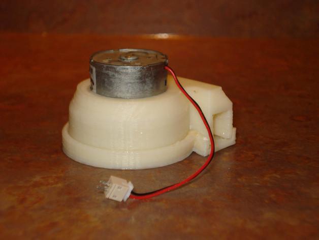 CD-Rom 马达泵 3D模型  图4