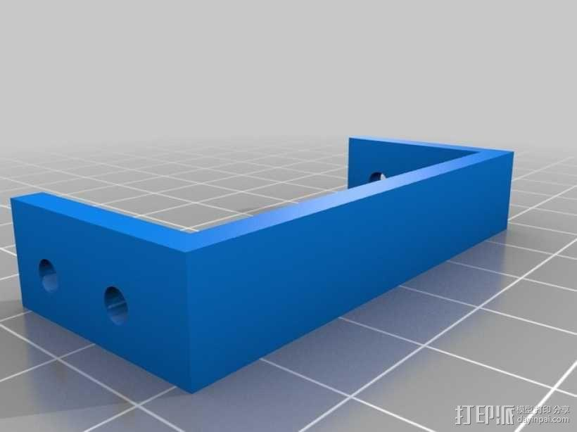 MiniSkybot机器人底盘 3D模型  图1