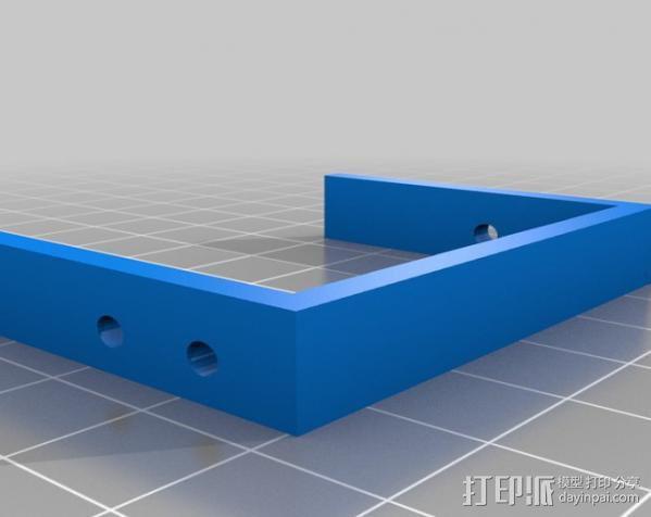 MiniSkybot机器人底盘 3D模型  图2