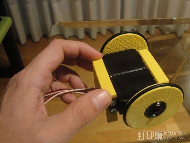 MiniSkybot机器人底盘 3D模型  图3