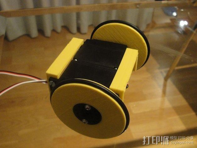 MiniSkybot机器人底盘 3D模型  图4